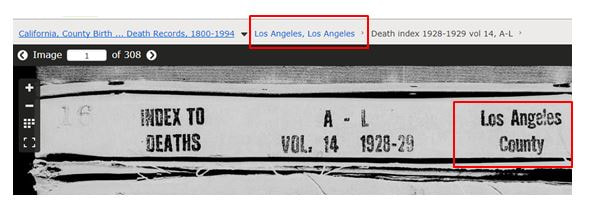 los angeles county death index